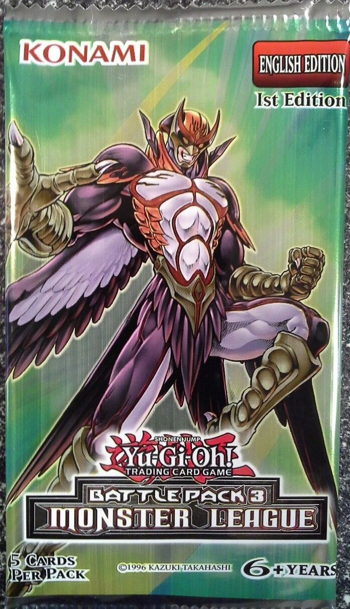 YuGiOh Battle Pack 3-Monster League Booster Pack