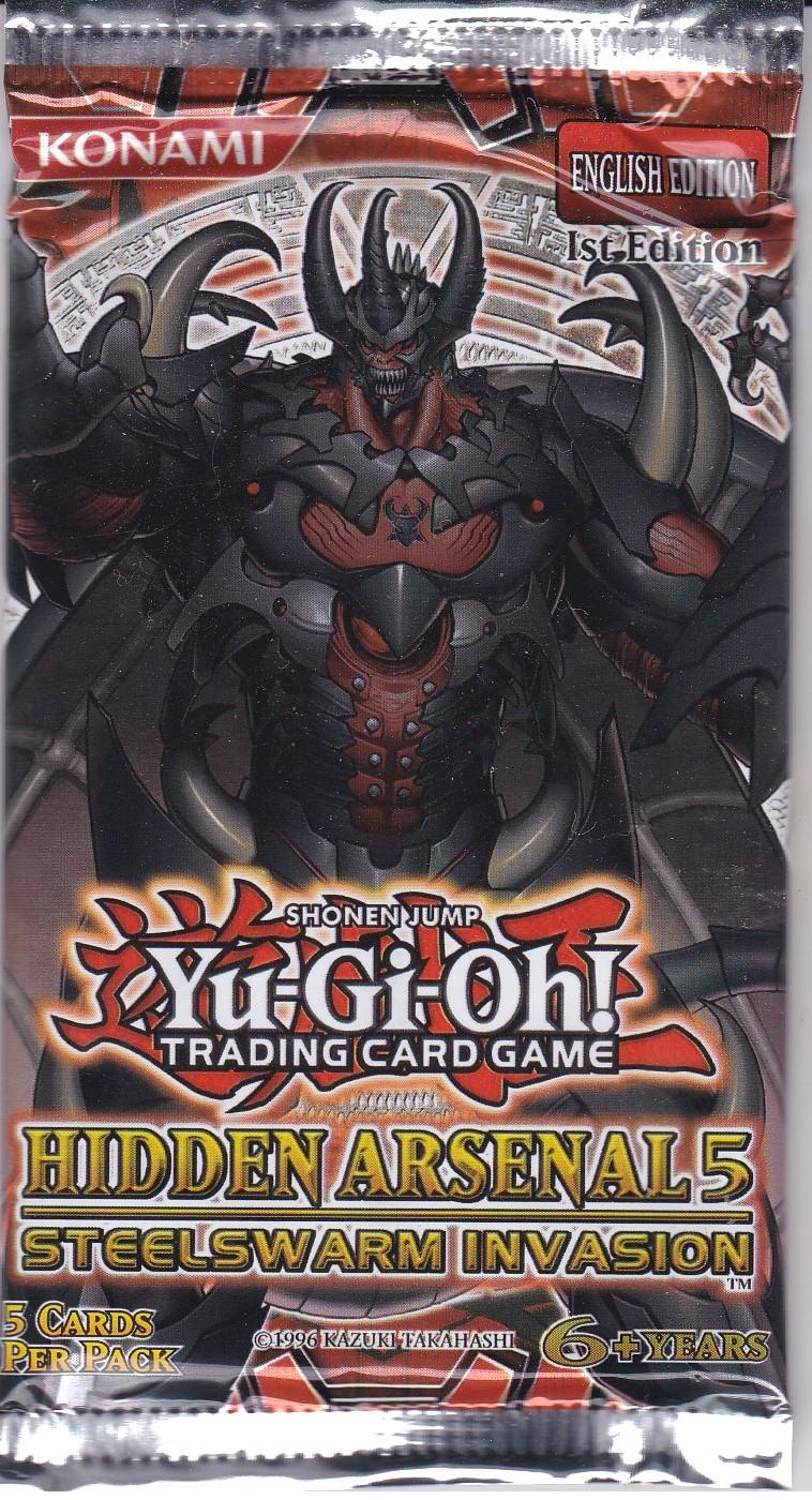 YuGiOh Hidden Arsenals Booster Pack