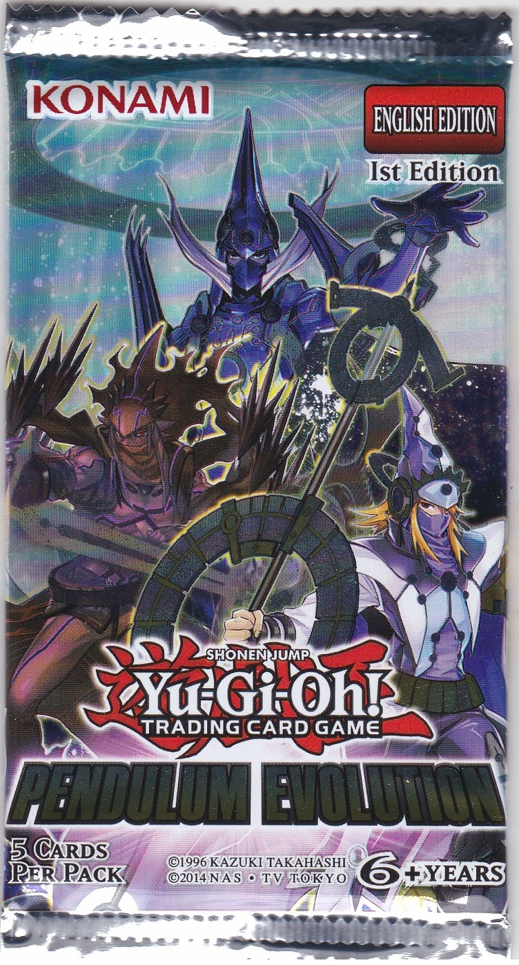 YuGiOh Legendary Duelist Booster Pack
