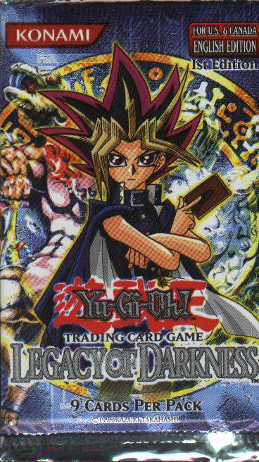 Yu-Gi-Oh!�Legacy of Darkness Booster Pack