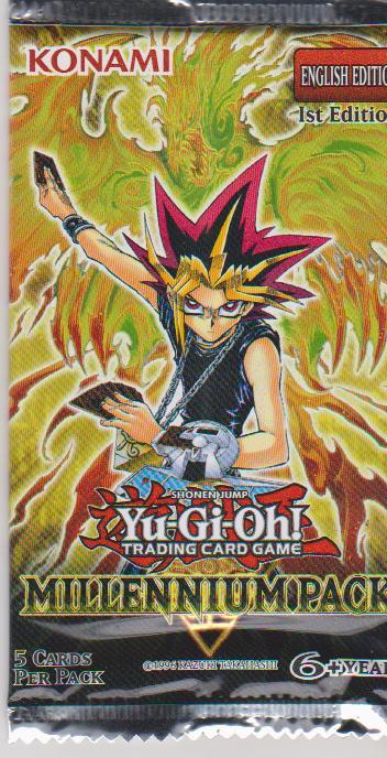 YuGiOh: Millennium Pack - 1st edition