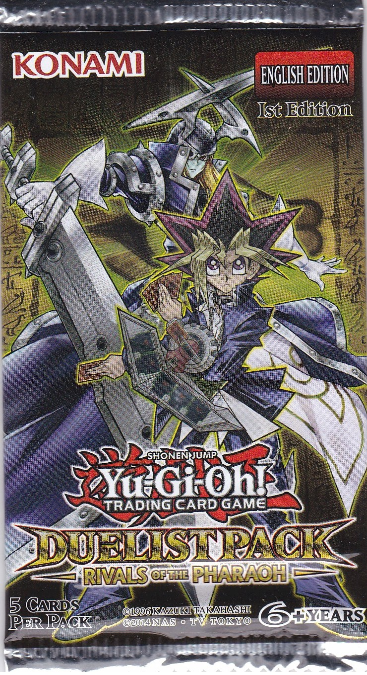 YuGiOh Rise of the Pharaoh Booster Pack