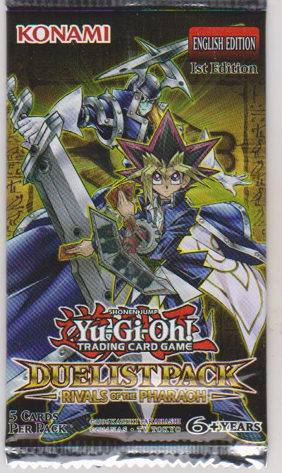 YuGiOh 1st edition Rivals of the Pharaoh Booster Pack