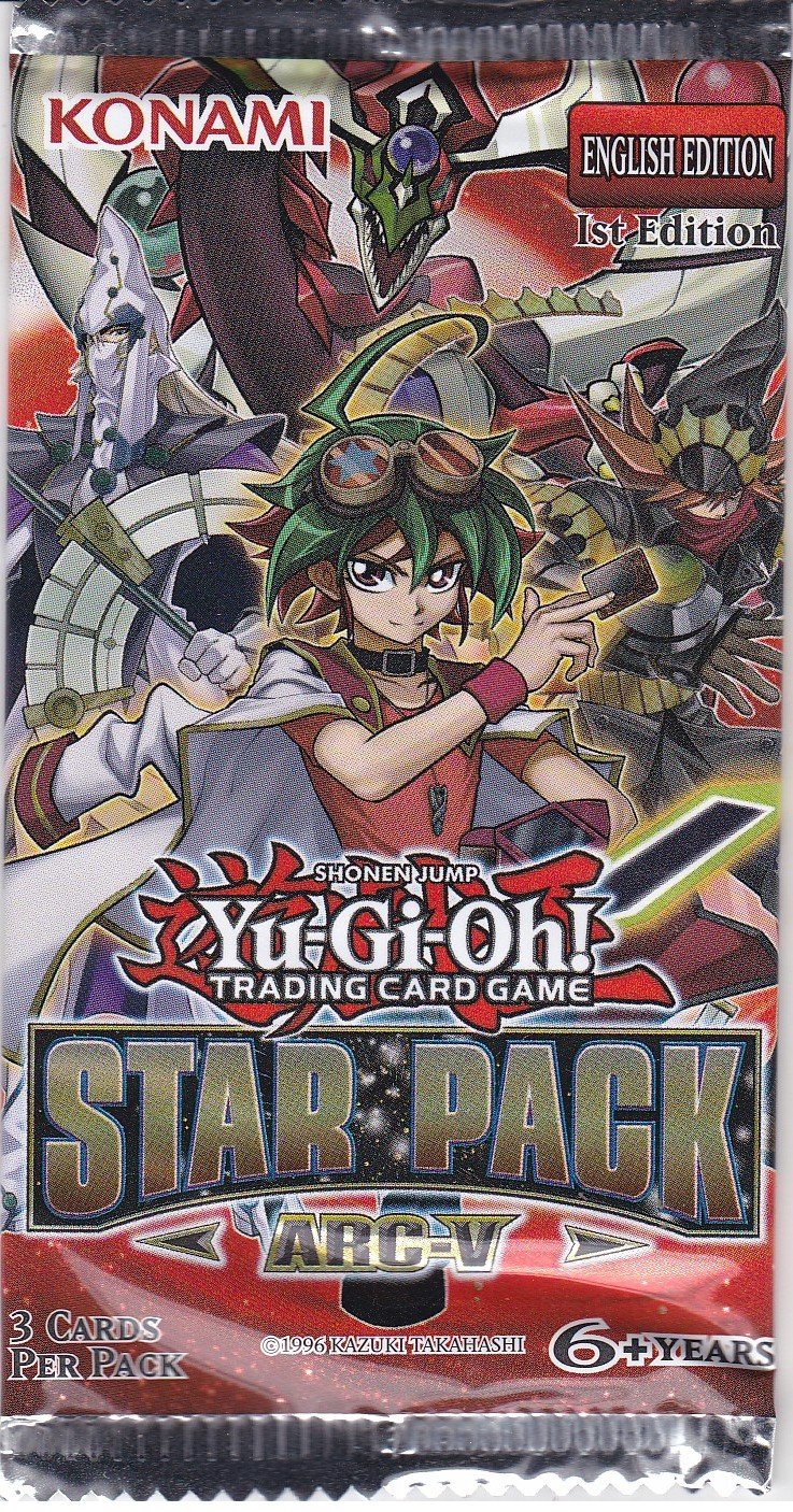 YuGiOh Star Pack Arc 5 Booster Pack