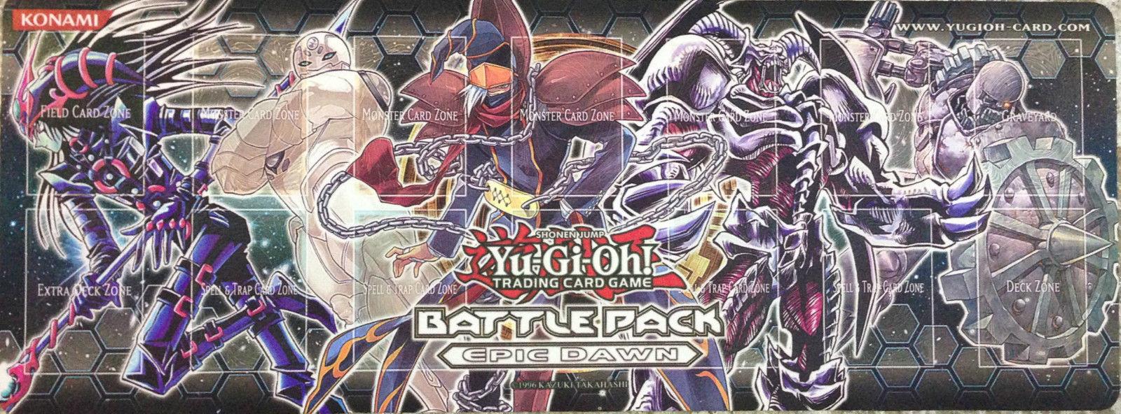 YUGIOH BATTLE PACK EPIC DAWN PLAYMAT MOUSE PAD