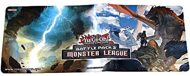 "YuGiOh! Battle Pack 3: Monster League: ""Typhoon"" & ""Unbreakable Spirit"" Playmat"
